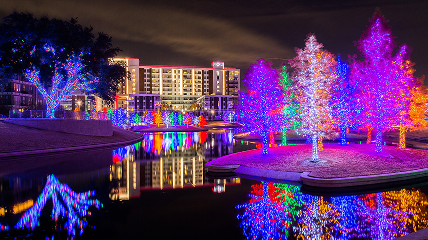 illuminations de Noël 2017 à Dallas